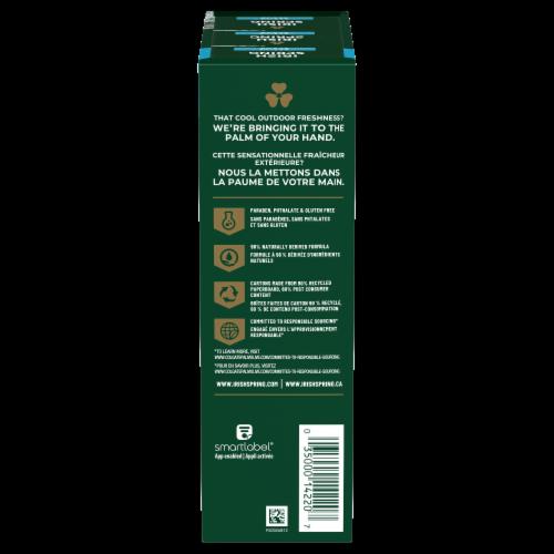 Irish Spring Deep Action Scrub Bar Soap Perspective: right