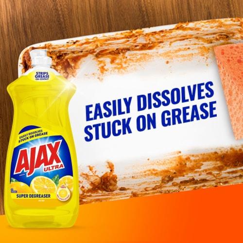 Ajax® Ultra Super Degreaser Lemon Dish Liquid Perspective: right