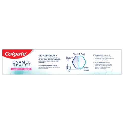 Colgate Enamel Health Fresh Mint Toothpaste Perspective: right