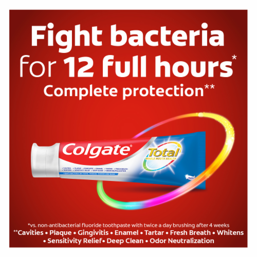 Colgate Total Whitening Toothpaste Perspective: right