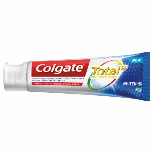 Colgate Total SF Whitening Gel Toothpaste Perspective: right