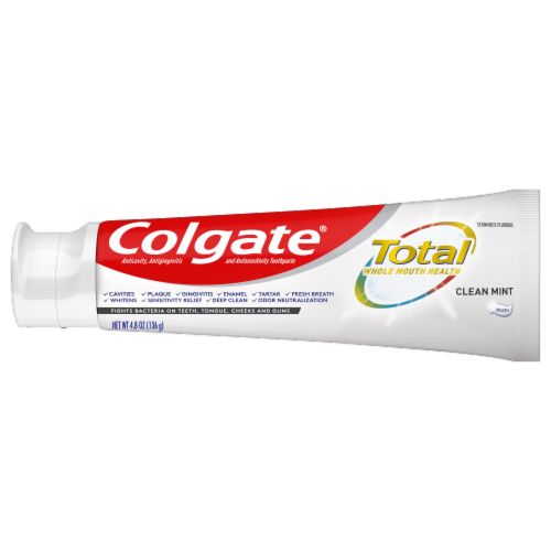 Colgate Total Clean Mint  Value Pack Toothpaste Perspective: right