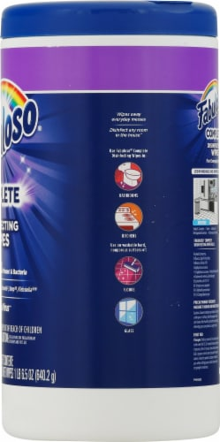 Fabuloso Lavender Complete Disinfecting Wipes Perspective: right