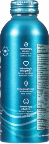Colgate Swish Invigorating Mint Antibacterial Mouthwash Perspective: right