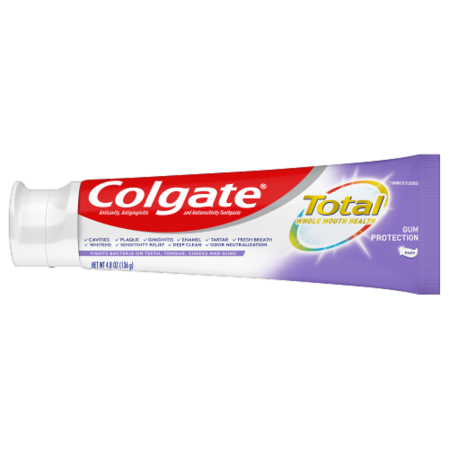 Colgate Total Whole Mouth Health Gum Protection Toothpaste Perspective: right
