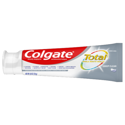 Colgate Total Deep Clean Toothpaste Value Pack Perspective: right