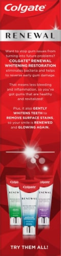 Colgate® Renewal Gum Revitalize Toothpaste Perspective: right