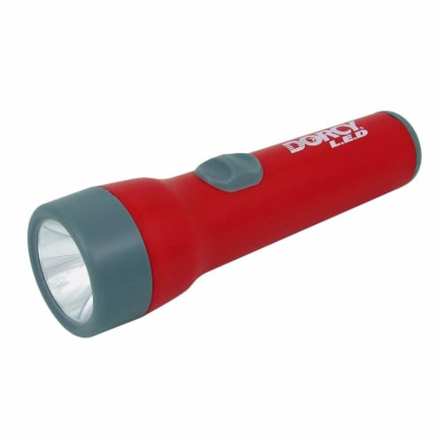Dorcy 25-Lumen LED Flashlight - Red Perspective: right