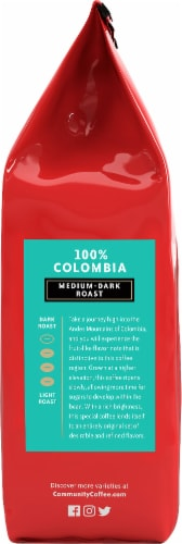 Community Coffee 100% Colombia Medium-Dark Roast Ground Coffee Perspective: right