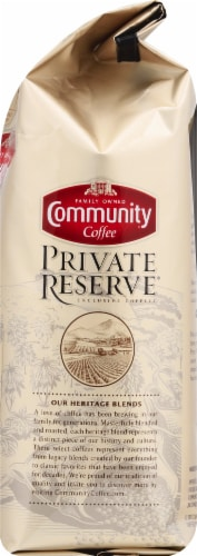 Community Coffee Private Reserve Brazil Medium Dark Roast Ground Coffee Perspective: right