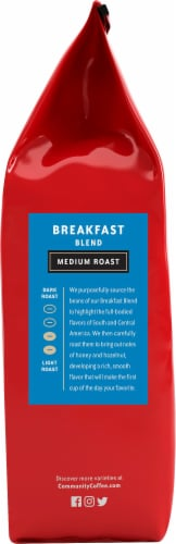 Community Coffee Breakfast Blend Medium Roast Ground Coffee Perspective: right