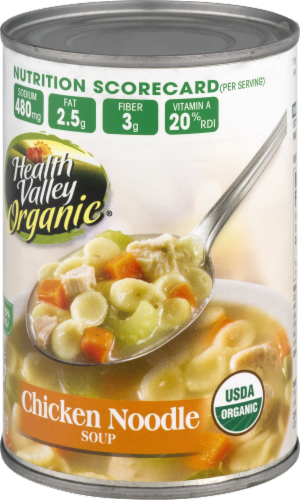 Health Valley Organic Chicken Noodle Soup Perspective: right