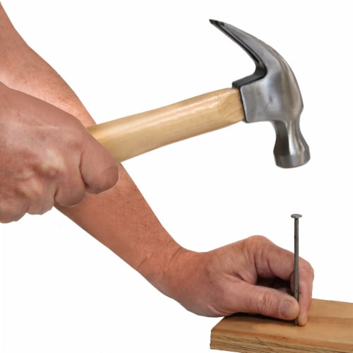 Allied Claw Hammer with Hardwood Handle- Silver/Natural Perspective: right