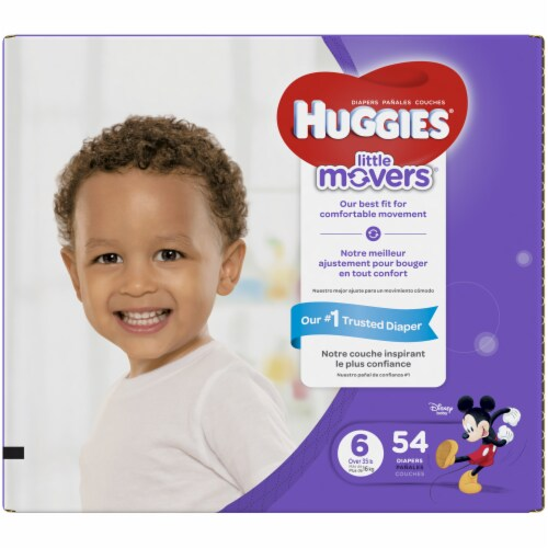 Huggies Size 6 Little Movers Diapers Perspective: right