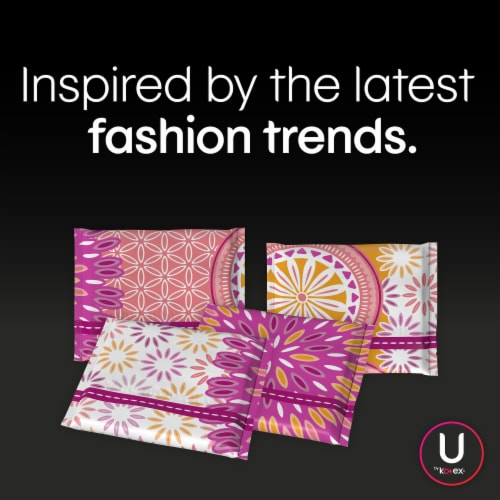 U by Kotex Barely There Light Absorbency Unscented Panty Liners Perspective: right