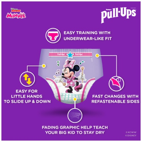 Pull-Ups Learning Designs Girls 3T-4T Training Pants Perspective: right
