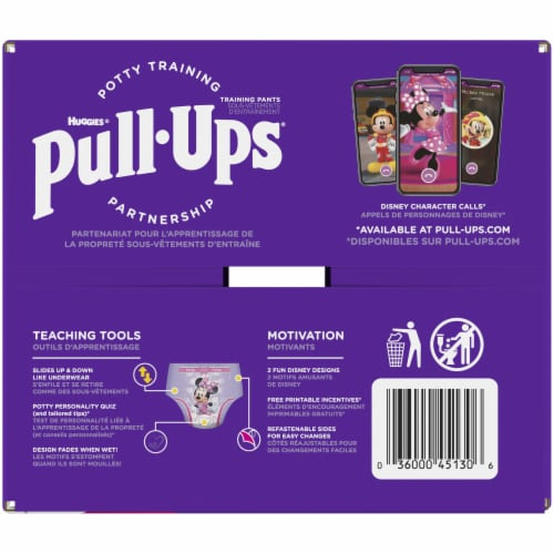Pull-Ups Learning Designs Girls 4T-5T Training Pants Perspective: right