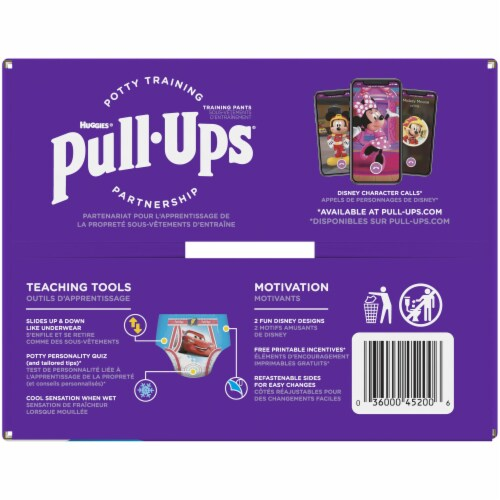 Huggies Pull-Ups 3T-4T Cool & Learn Boys Training Pants 66 Count Perspective: right