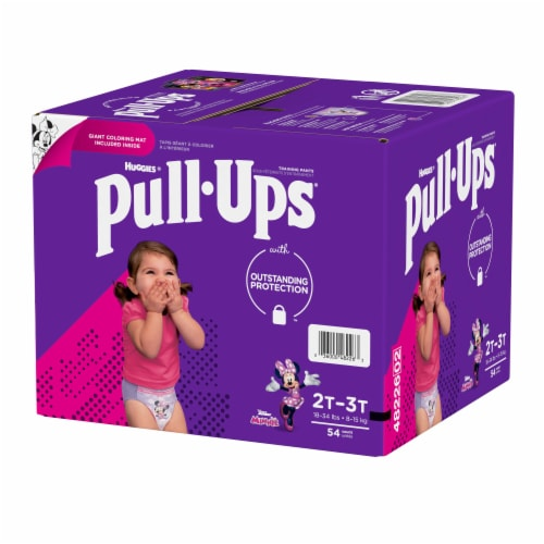 Pull-Ups Learning Designs Girls' Training Pants 2T-3T Perspective: right