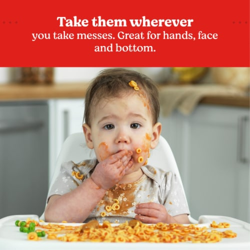 Huggies Simply Clean Unscented Baby Wipes Perspective: right