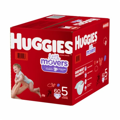 Huggies Little Movers Size 5 Diapers Perspective: right