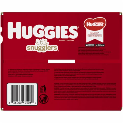 Huggies Little Snugglers Size 6 Baby Diapers Perspective: right