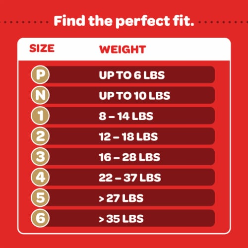 Huggies Little Snugglers Size 1 Baby Diapers Perspective: right