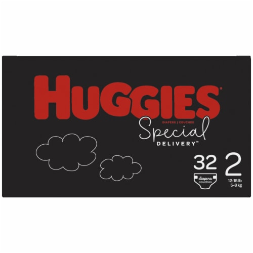 Huggies Special Delivery Size 2 Diapers Perspective: right