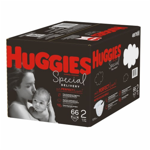Huggies Special Delivery Size 2 Baby Diapers Perspective: right