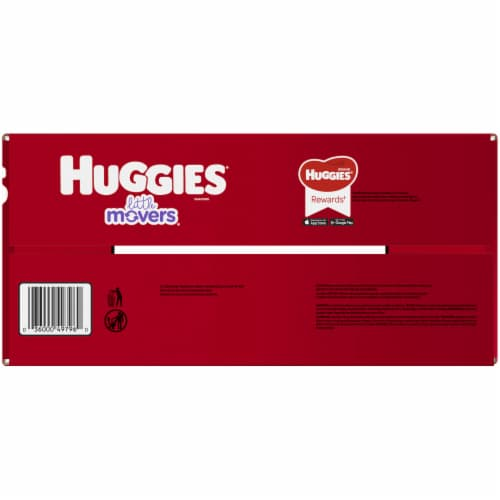 Huggies Little Movers Diapers Size 6 Perspective: right