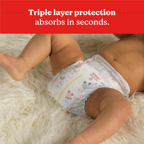 Huggies Snug and Dry Size 5 Diapers Perspective: right
