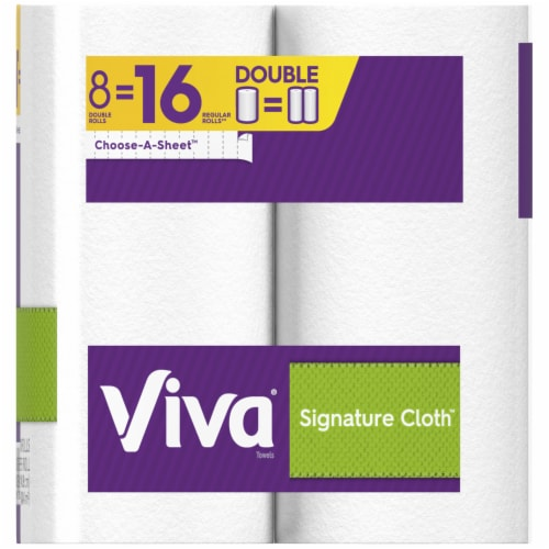 Viva Signature Cloth Double Paper Towels Perspective: right