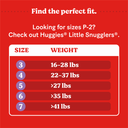 Huggies Little Movers Size 4 Baby Diapers Perspective: right