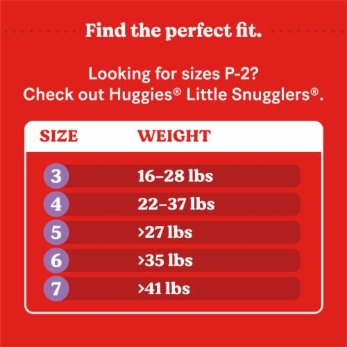 Huggies Little Movers Size 6 Diapers Perspective: right