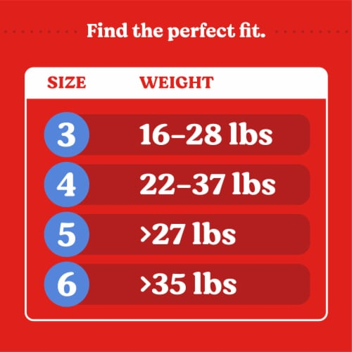 Huggies Overnites Size 6 Baby Diapers Perspective: right