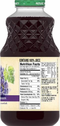 Santa Cruz Organic Concord Grape Juice Beverage Perspective: right