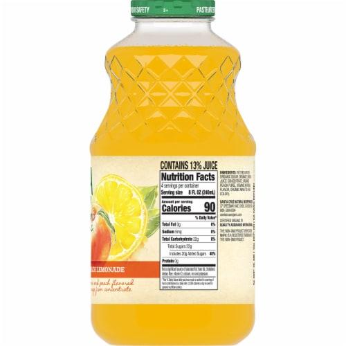 Santa Cruz Organic Peach Lemonade Perspective: right