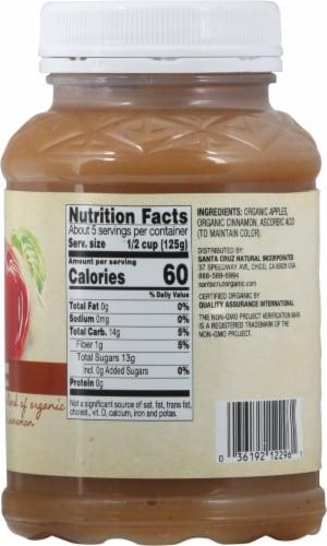 Santa Cruz Organic Cinnamon Apple Sauce Perspective: right