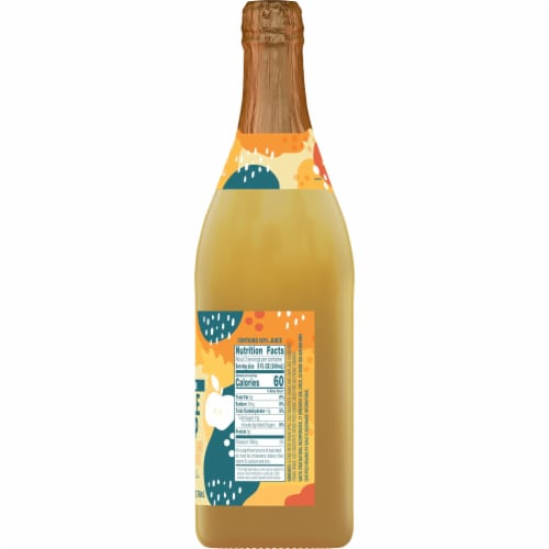 Santa Cruz Organic Apple Snap Sparkling Juice Perspective: right