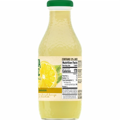 Santa Cruz Organic Lemonade Perspective: right