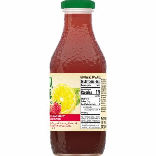 Santa Cruz Organic Strawberry Lemonade Perspective: right