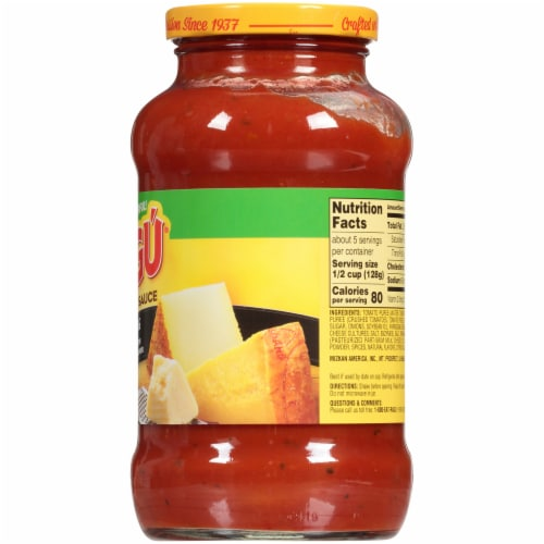 Ragu Cheese Creations Parmesan & Romano Sauce Perspective: right