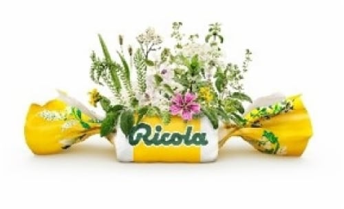 Ricola Cherry Honey Herb Throat Drops Perspective: right