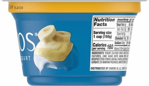 Oikos Banana Cream Greek Yogurt Perspective: right