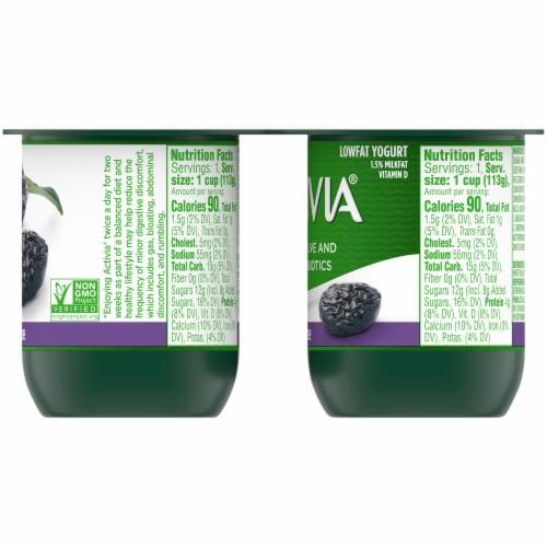 Activia Prune Lowfat Probiotic Yogurt Perspective: right