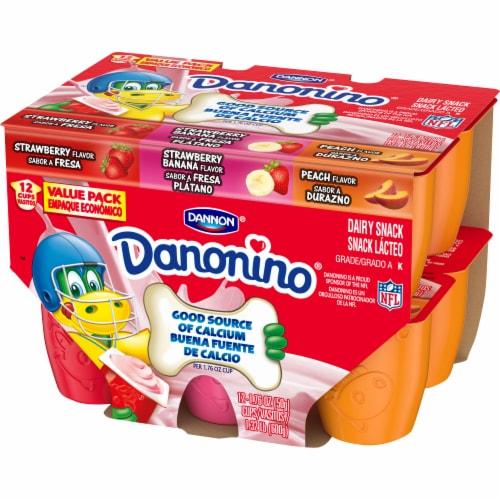 Dannon Danonino Power Packed Yogurt Cups Variety Pack Perspective: right