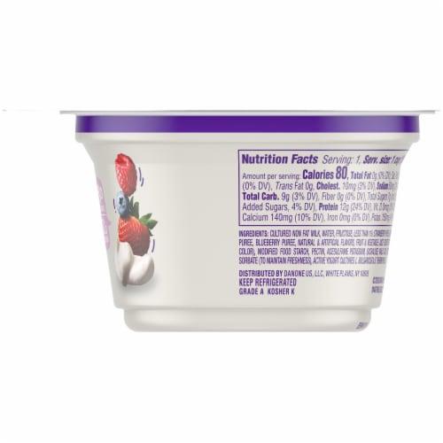 Dannon Light & Fit Berries & Cream Nonfat Greek Yogurt Perspective: right