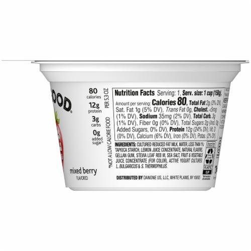 Two Good Mixed Berry Lowfat Greek Yogurt Perspective: right