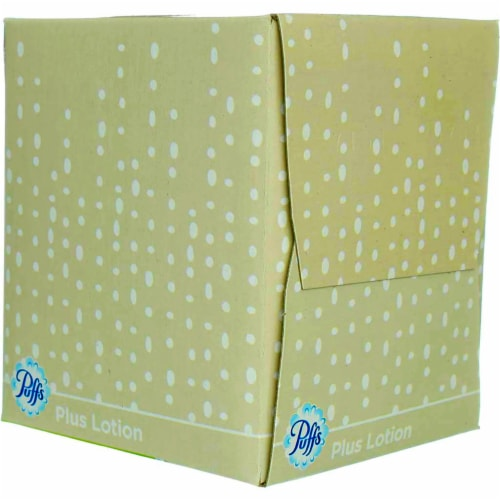 Puffs 56 count Facial Tissue - Case Of: 1; Perspective: right
