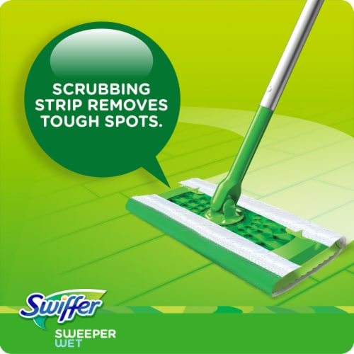 Swiffer Fresh Scent Wet Mopping Cloths Refill Perspective: right